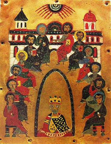 370px-Descent of the Holy Spirit icon 12th century National Museum of Georgia